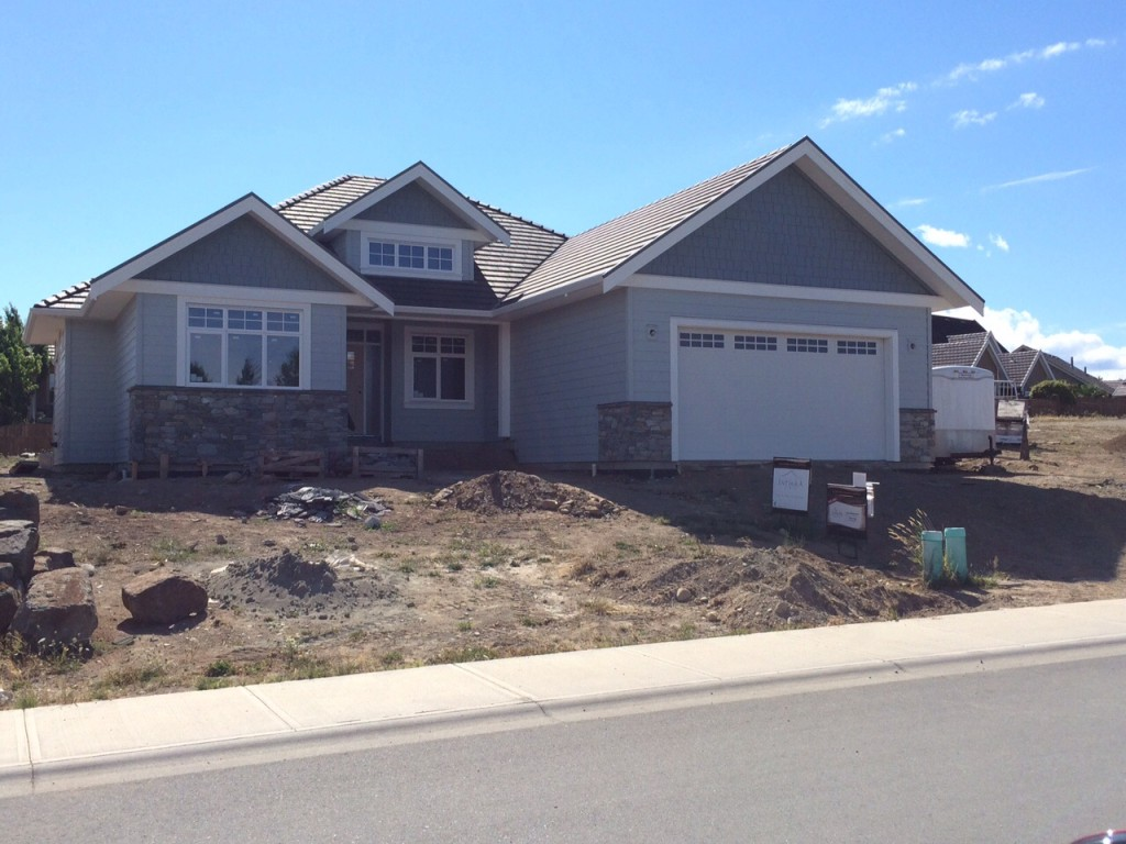 Our latest custom built home in Crown Isle will be finished. Book an appointment to view the house in August, or stop by during an open house in September.